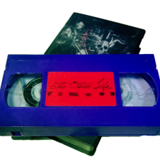 "Shooter Jennings ""The Other Life"" purple VHS"