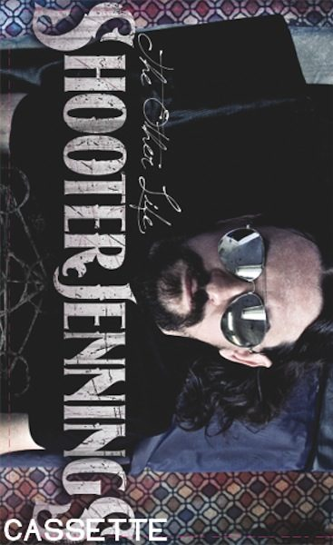 """Shooter Jennings """"The Other Life"""" Purple Cassette Tape 1"""