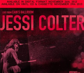 "Jessi Colter ""Live from Cain's Ballroom"" Cassette Tape w/ download 2"