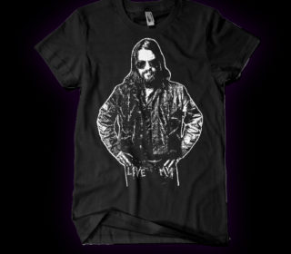 "Shooter Jennings ""Live Mean"" T-Shirt (S Only) 4"