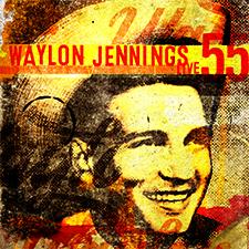 Waylon Jennings Live 55