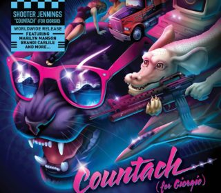 "Shooter Jennings ""Countach"" Pink Vinyl 12"" 3"