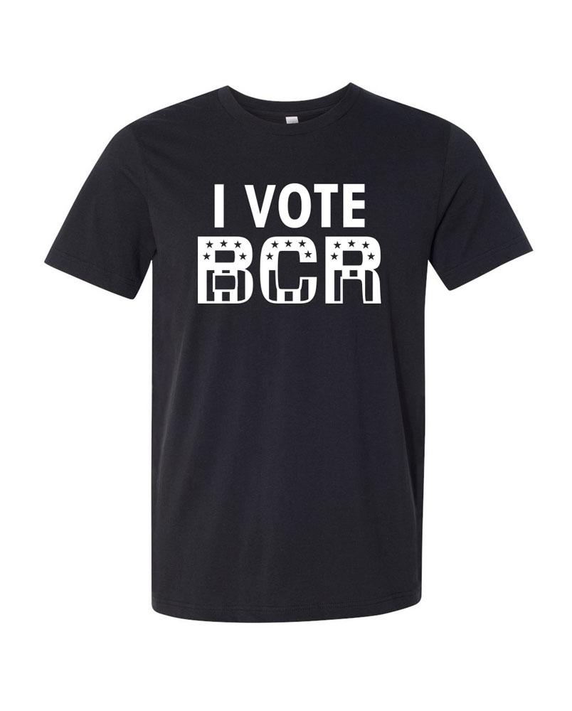 Quot I Vote Bcr Quot T Shirt Black Country Rock Bcr Media