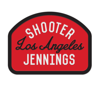 "Shooter Jennings ""Los Angeles"" Patch 4"
