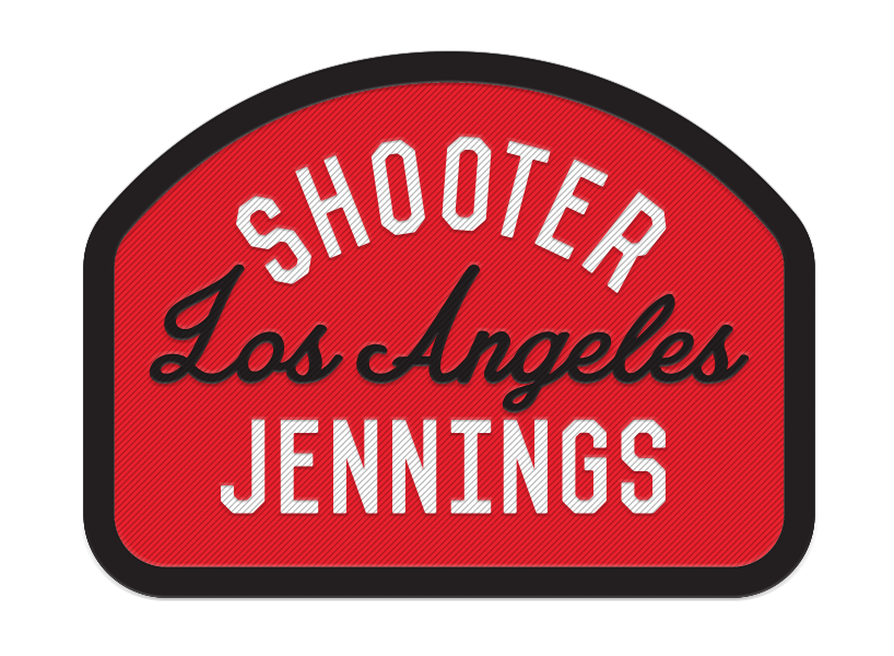"""Shooter Jennings """"Los Angeles"""" Patch 1"""