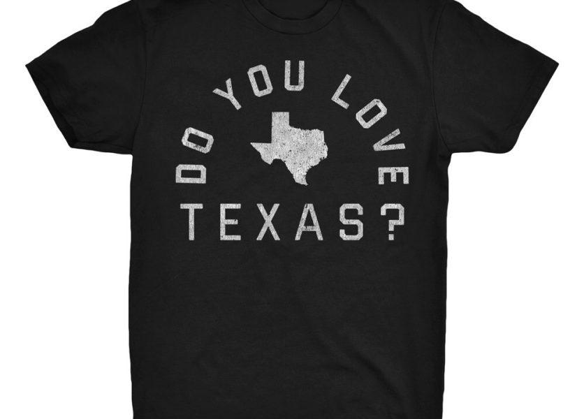 """Shooter Jennings - """"Do You Love Texas?"""" T-Shirt 1"""