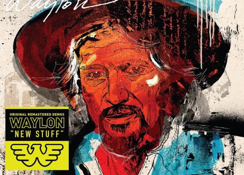 "Waylon Jennings - ""New Stuff"" - 12"" Colored Vinyl 1"