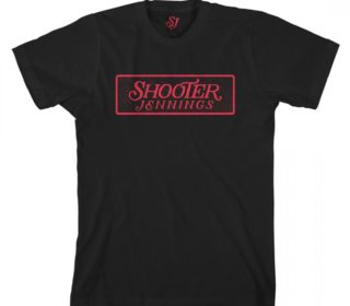 Shooter Jennings Red Logo T-Shirt 2