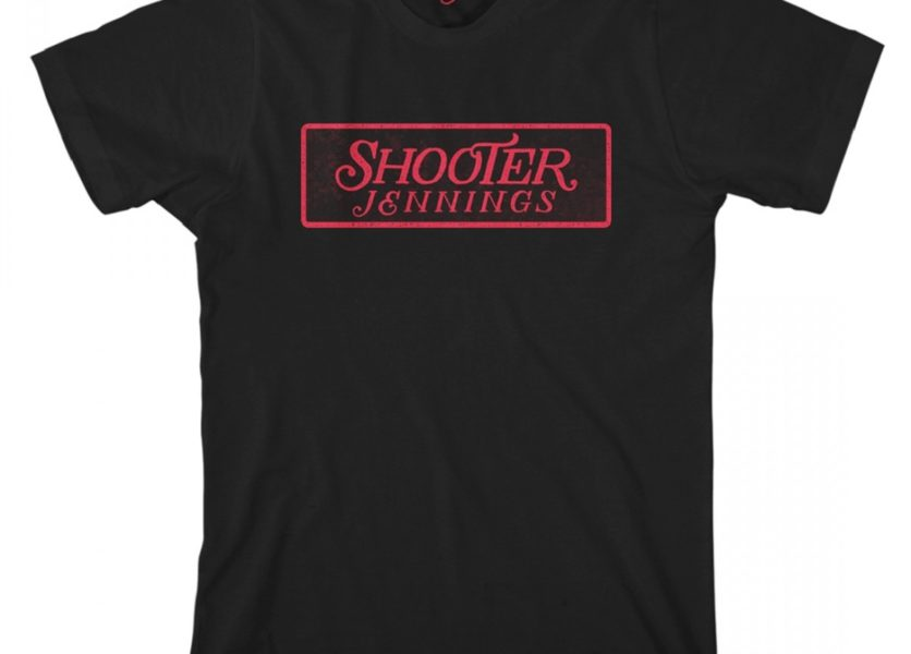 Shooter Jennings Red Logo T-Shirt 1