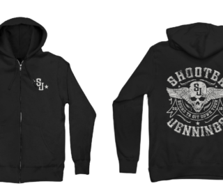 Shooter Jennings Skull Hoodie 2