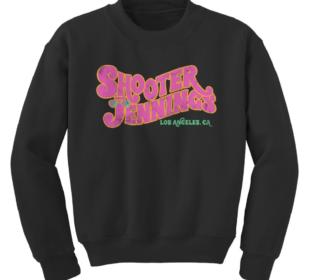 Shooter Jennings - Groovy Logo Crewneck 2
