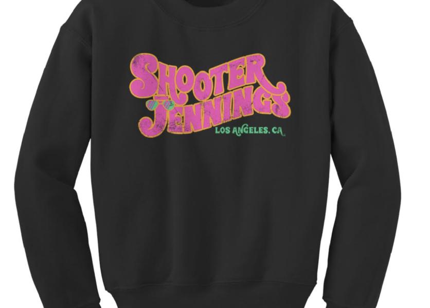 Shooter Jennings - Groovy Logo Crewneck 1