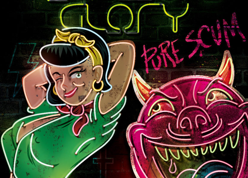 Hellbound Glory // Pure Scum LP+CD (Pre-Order) 1