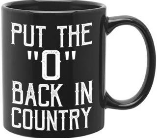 Shooter Jennings // Put The 'O' Back Coffee Mug 2