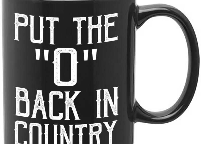 Shooter Jennings // Put The 'O' Back Coffee Mug 1