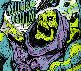 Shooter Jennings // March 2020 Tour Poster (Limited to 130) 4