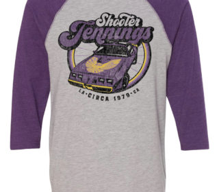 Shooter Jennings // Trans Am Raglan Baseball Tee 3