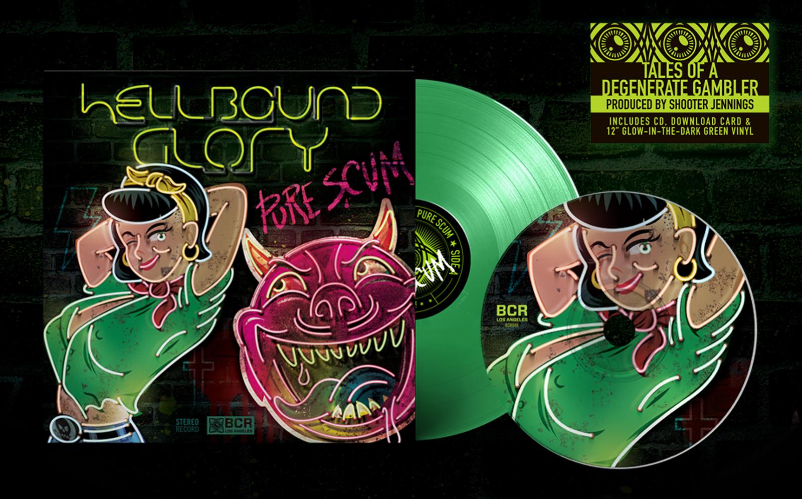 Hellbound Glory - Pure Scum Pre Order